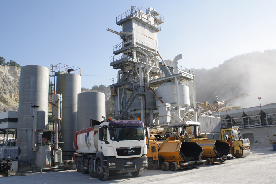 Impianto di Conglomerati bituminosi - GIV srl - Campobasso